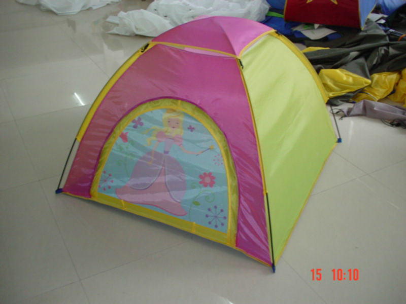 Pop Up Childrens Tunnel Play Tent