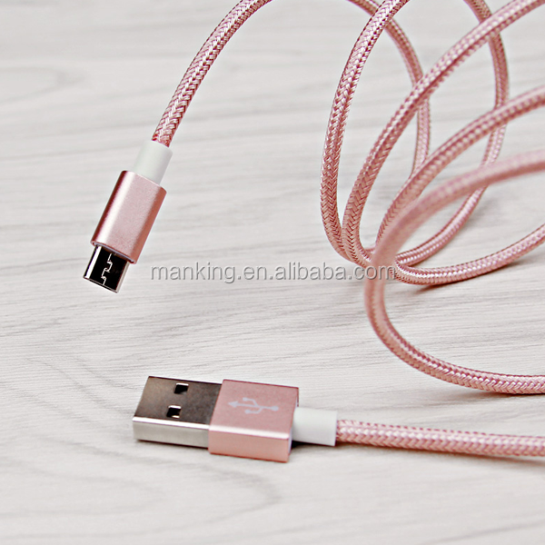 China Customized Best Selling Good Quality soft touch Micro Usb Cable,Micro Usb Data Cable For Mobile Phone