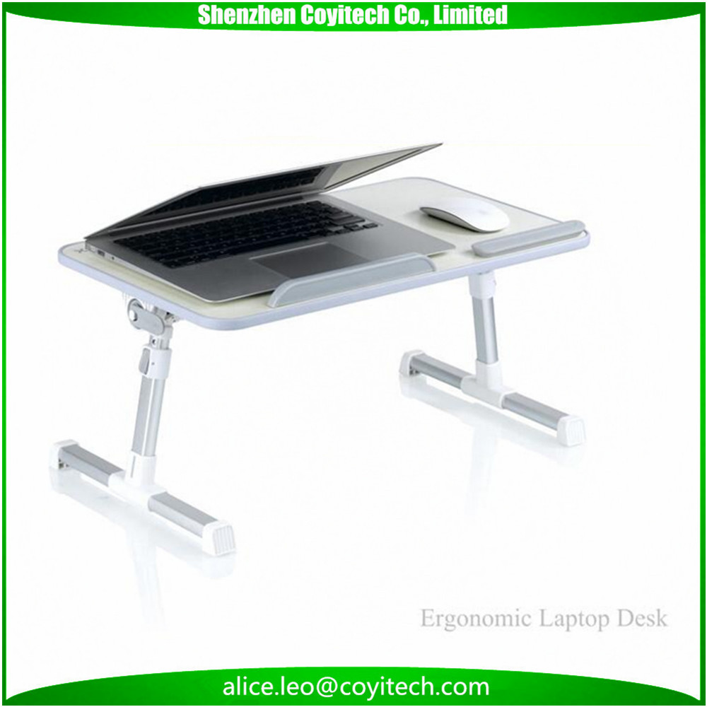 Folding desks laptop table stands elevator stand standing table for bed couch floor