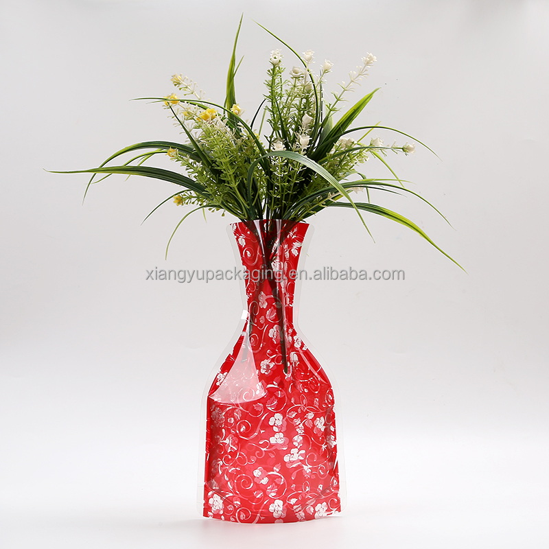 durable eco-friendly foldable paper vase hat for parader
