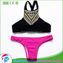 Hot Sexy School Small Girl Usa Casual Indian Open Sex Neoprene Bikini Sexy Photo Bikini Swimwear Young