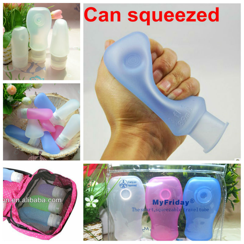 Promotional Handy Fast Food Silicone Travel Custom Paper Muffin Cups Squeeze Bottle Dispenser
