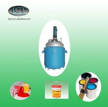 JCT embroidery patch adhesive making reactor