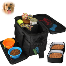 Pet Travel Food Bag for Dog Weekend Tote Dog Travel Bag