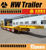 hot selling new customized design cheap lowbed truck trailer
