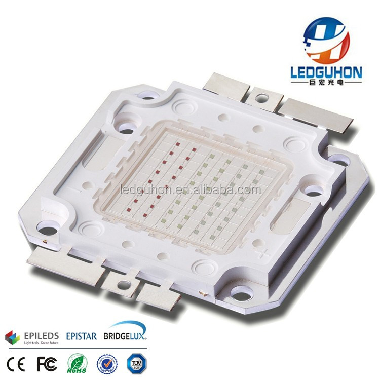 48W COB high power RGB led diode integrated with Epileds 45mil led chips