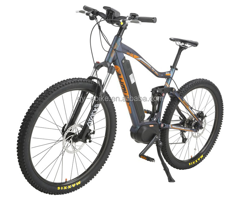 full suspension mid drive motor fastest electric fat bike