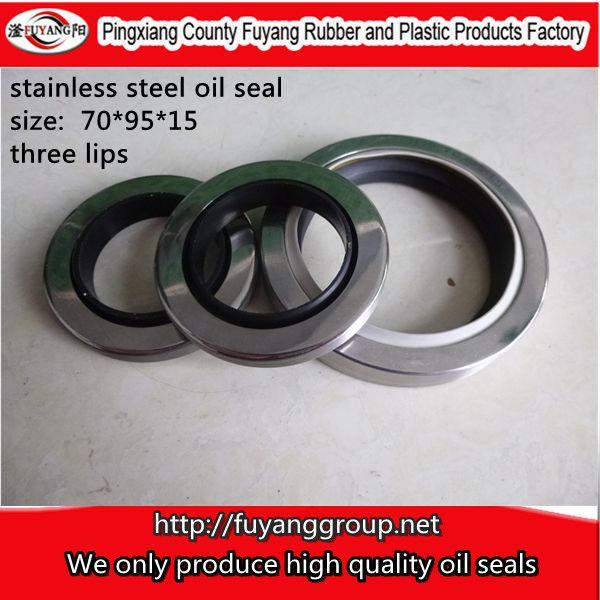Sell DLS Series PTFE Lip-rotary STAINLESS STEEL Shaft Seal