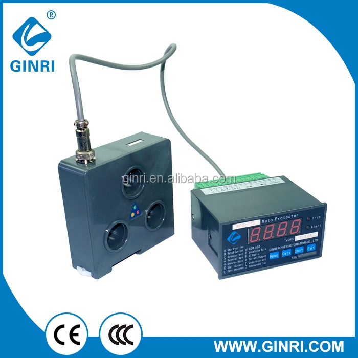 GINRI WDB-1F2 Overload/undercurrent/Phase Failure/Phase Unbalance Intelligent Motor Protective Relay with RS-485 Communication