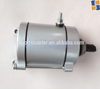 Motorcycle high quality engine spare parts 12V genuine starter motor