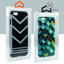 Wholesale transparent PVC plastic phone case packaging box