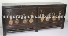 Antique Chinese Beautiful Hand Painted console Cabinet