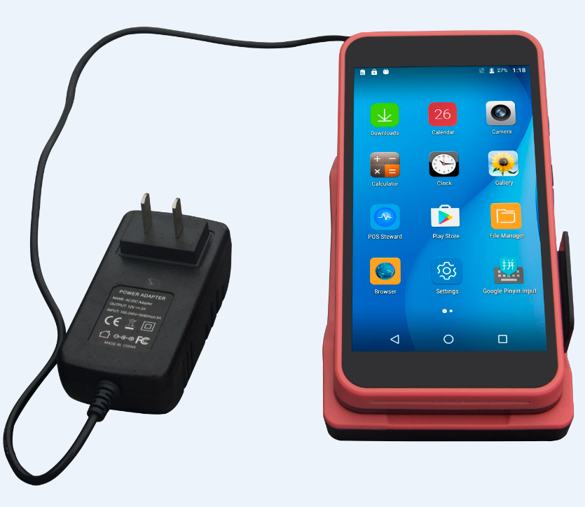 HDD-A5/Smart wireless handheld Android Pos terminal