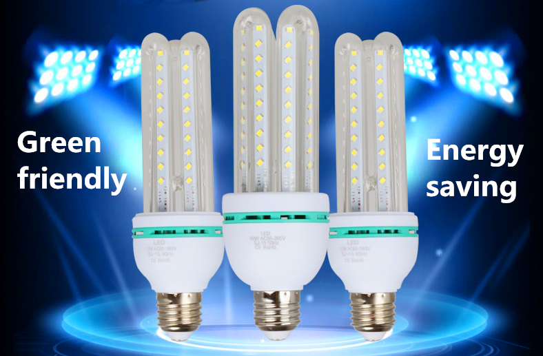 High brightness smd 2835 3U 4U led corn lamp energy saving light with 5 year guarantee