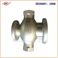 Wenzhou foundry Custom drawing lost wax casting steel products fabrication