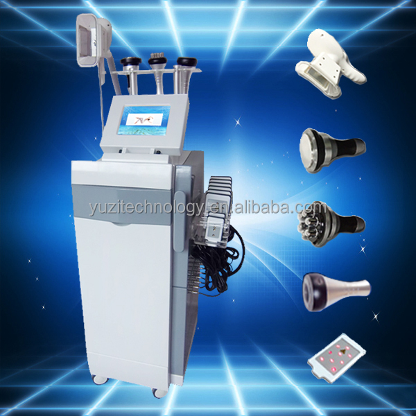 Professional 5 in 1 anti cellulite cryo body cool shape machine for beauty CRYO6S