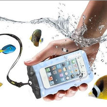 For Iphone 6 Samsung 9500 Mobile Phone PVC Waterproof Bag