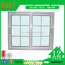 Made in China PVC Windows Sliding Window Office Sliding Glass Window Sample Design Window Grills
