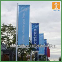 promotional quality outdoor Street pole banner
