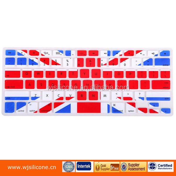 OEM Printing silicone keyboard cover for laptop