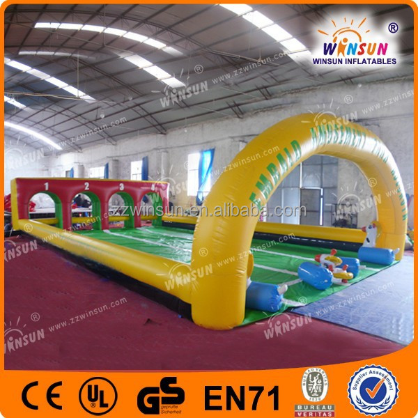 Attractive Design High Quality Durable Fun Inflatable Race Track