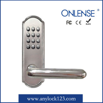 new design mechanical keyless entry lock