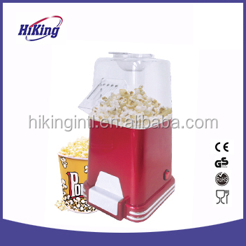 old fashioned mini classic hot air popped popcorn maker