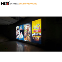 PVC banner poster printing aluminum led light box,advertising light boxes for advertising or exhibition