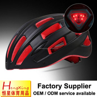 LED lights bike helmet