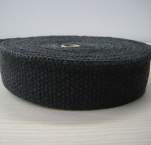 great ceramic fiber exhaust wrap black