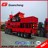 40t Semi Truck Trailer Dropside Curtain