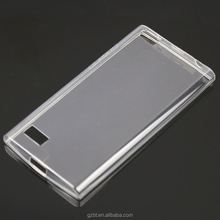 Clear Durable Crystal Gel Skin (TPU) Case Cover for BlackBerry Z10