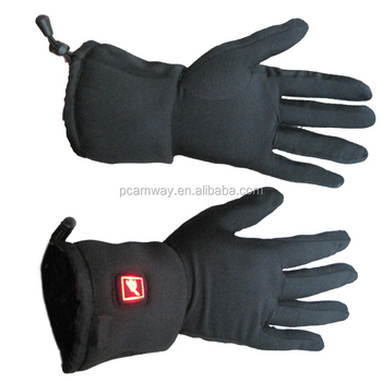 rechargeable battery ski motorcycle hot sales thin electric heated gloves
