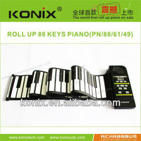 BEST GIFT FOR PIANO LEARNERS CHEAPEST SILICONE ROLL UP PIANO WITH SPEAKER WITH DEMO SONGS
