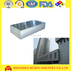 1060 1070 1100 H12/H14/H16 aluminum curtain wall for cladding exterior wall panels
