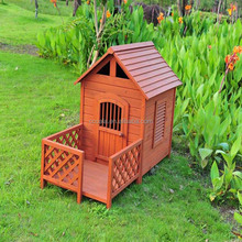 New Dog House for Big Dogs Kennel Wooden Barn XL Pet Puppy Raised Floor Shelter