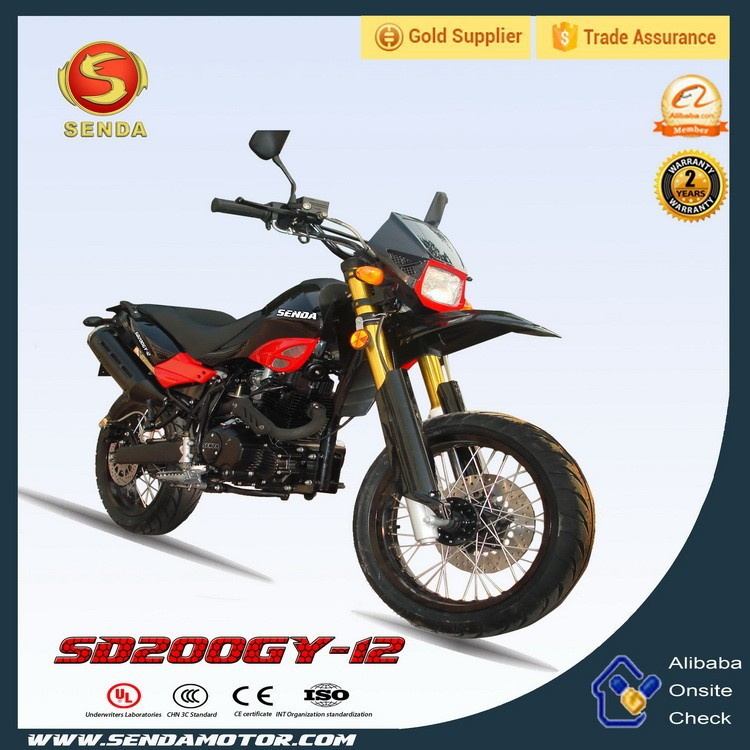 Dragon Shape Motorcycle Strong Power for Sale Cheap Used SD200GY-12