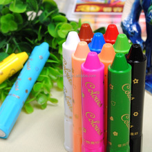 multi color silky crayons 12 colors