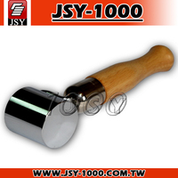 JSY928-2 Inch Roofing Tile Sheet Materials Smooth Bearing Wheel Steel Roller
