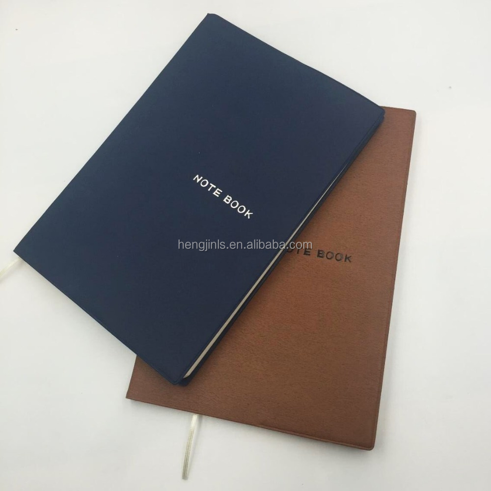 Pu Leather Cover Journal Diary Notebook /A4 Leather Cover Notebook