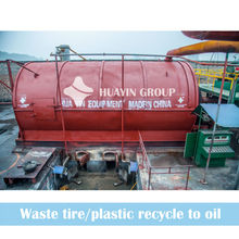 2013 Great Profit Waste Tyre Recycling Pyrolysis Plant