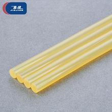 Best transparent yellow super strong <strong>adhesion</strong> hot melt glue stick 11mm for carton packing