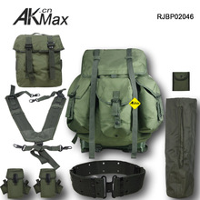 Olive green army ALICE pack backpack military equipment