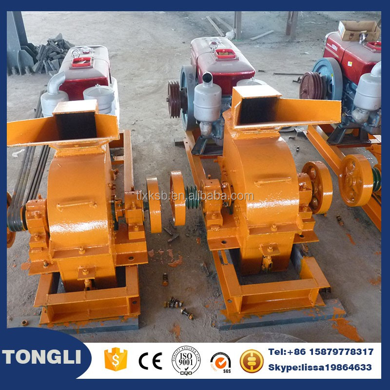 Portable Impact Small Scale Hammer Mill