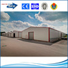 light steel frame with sandwich panel used for factory warehouse building