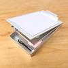 High quality wholesale aluminum dual storage clipboard ,folding aluminum metal clipboard with storage