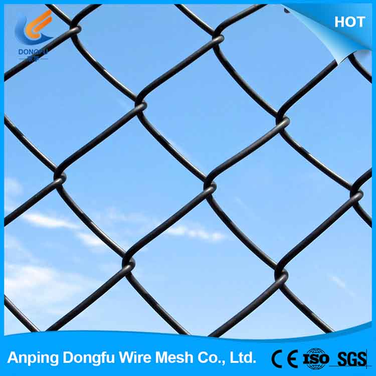 High quality chain link fence post diameter