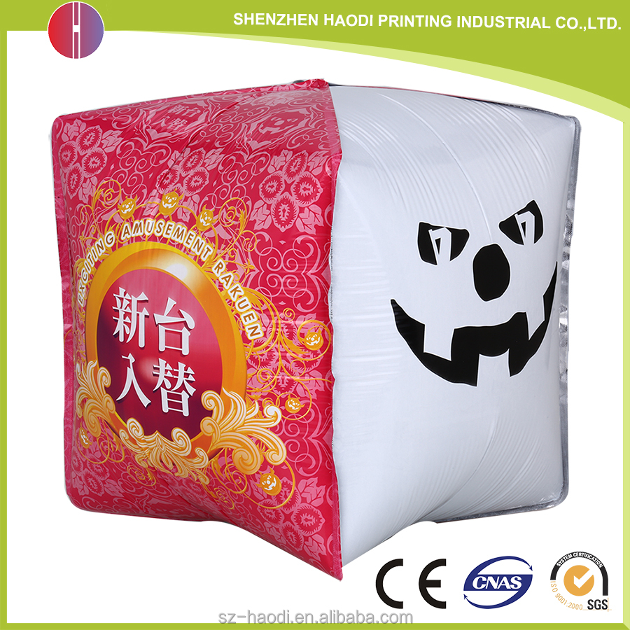 Newest technology custom cube made shaped helium foil balloon for party Holiday