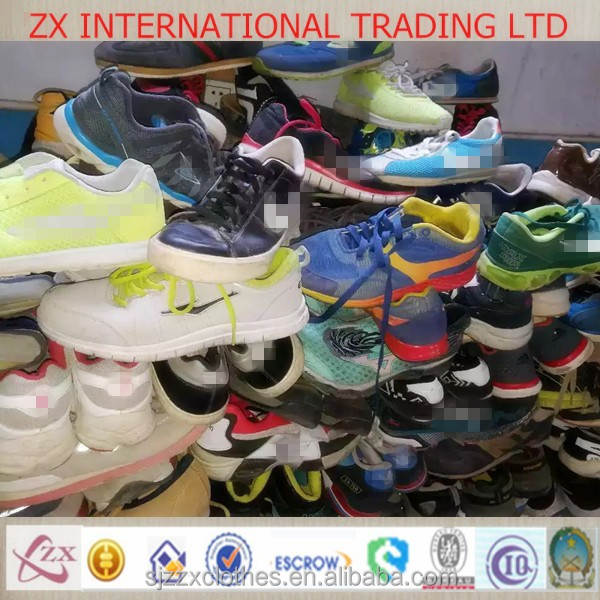 New York top quality used shoes wholesale