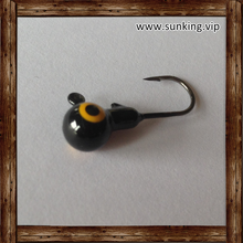 With Perfect Size Fishing Lure Painted Round Jig Head